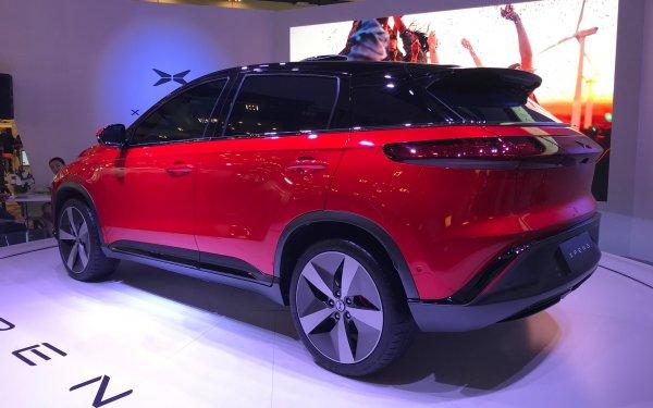 Китайцы представили на CES 2018 электрический кроссовер Xpeng G3