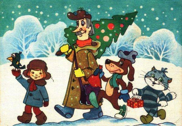 Названы советские мультфильмы, которые создают зимнее настроение