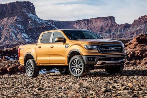 Ford готовятся показать новый пикап Range