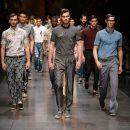 В Милане организовали мужскую Неделю мод