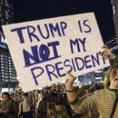 В США «поздравили» Трампа с годовщиной инаугурации многотысячными протестами