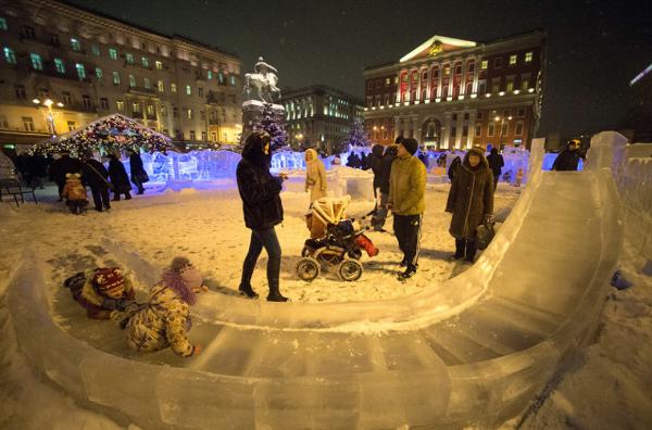 Москва вошла в пятерку самых популярных новогодних направлений