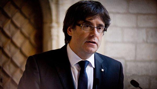 Испанская прокуратура настаивает на аресте Пучдемона в Копенгагене