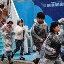 В Токио прошли учения на случай эвакуации во время ракетной атаки