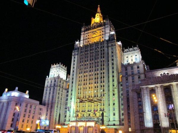 МИД обвиняет США в агитационной атаке на Россию