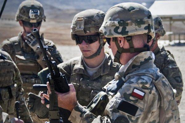 Варшава возлагает надежды на США в модернизации польской армии