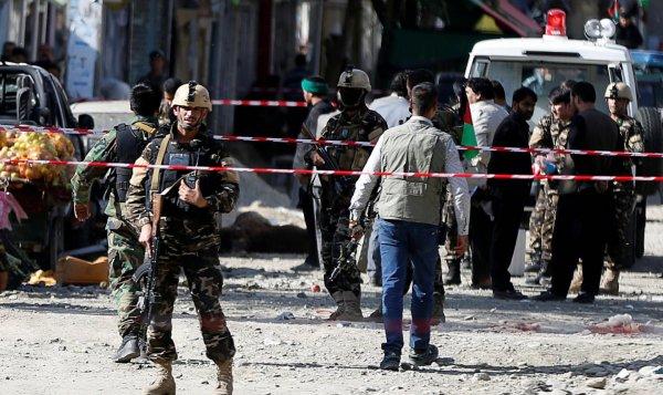 Количество пострадавших от  взрыва в Кабуле превысило сто человек