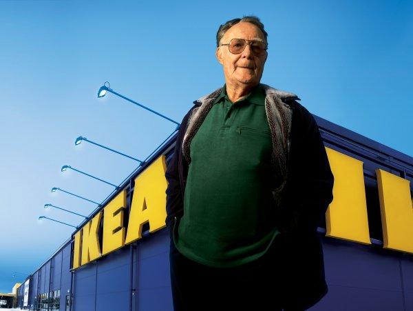 Ушел из жизни 91-летний основатель IKEA Ингвар Кампрад