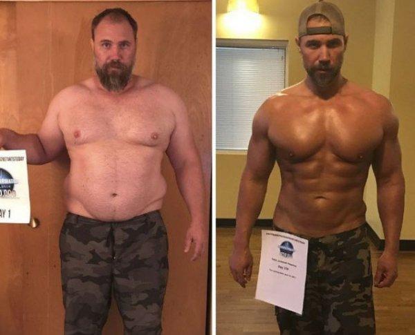 Из дряхлого в секс-символа: Многодетный отец за полгода сбросил 37 кило