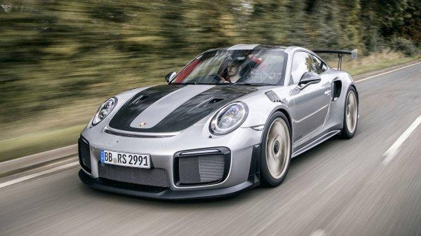 Представлен самый экстремальный Porsche 911 GT2 RS с пакетом Weissach Pack