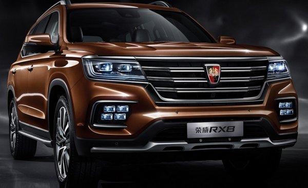 Китайцы из SAIC представили роскошный внедорожник Roewe RX8