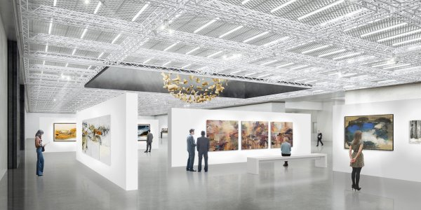 В Пекине завершено строительство первого в мире аукционного комплекса
