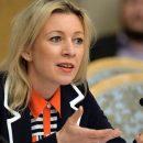 Мария Захарова прокомментировала заявление Украины об «атаке снегирей»