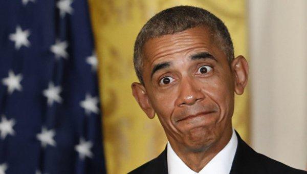 Официальный портрет Барака Обамы высмеяли в Сети