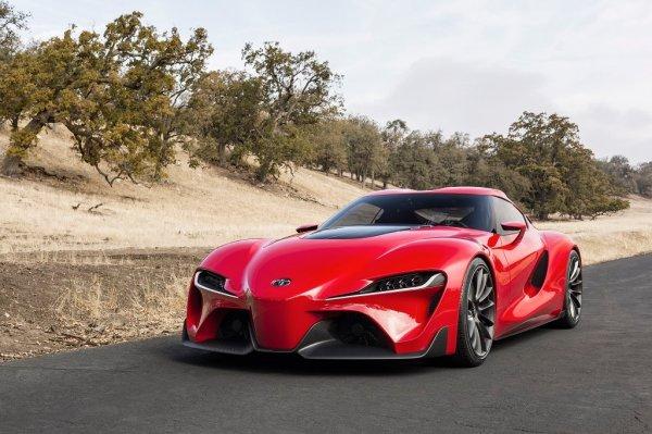 Toyota опубликовала первый тизер возрожденного спорткара Supra