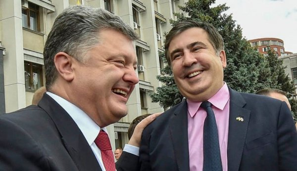 Саакашвили обозвал Порошенко «молдавским барыгой»