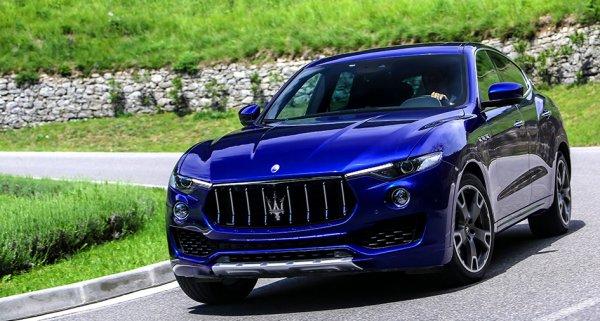 «Заряженный» кроссовер Maserati Levante GTS дебютирует этим летом