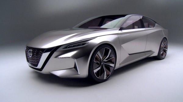 Новый седан Nissan Teana 2019 дебютируют в Нью-Йорке