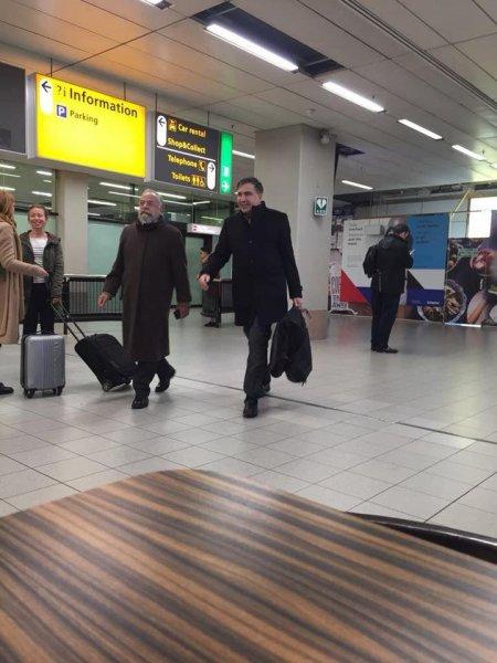 «Посвежевшего» Саакашвили заметили в Амстердаме