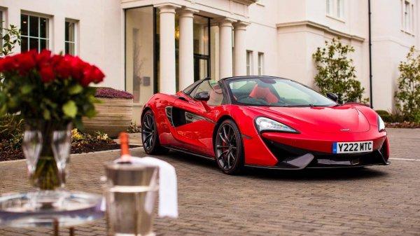 В Британии девушке на День Валентина подарили особый McLaren 570s