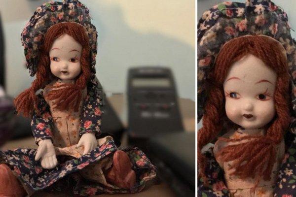 Британские охотники за привидениями показали фото «одержимой духом куклы»