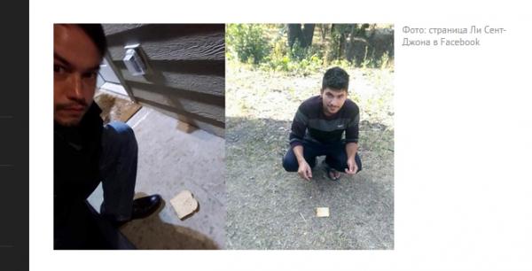 Американец и индиец приготовили бутерброд из планеты Земля