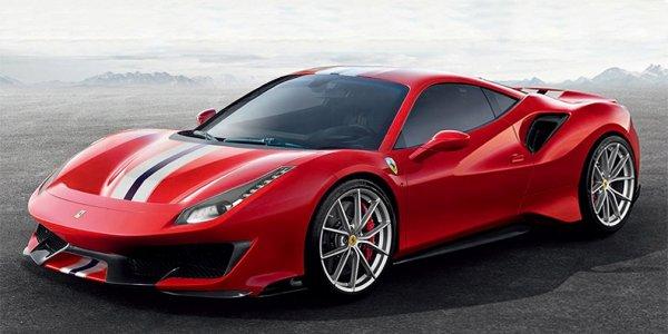 Хардкорный суперкар Ferrari 488 GTB получит название Pista
