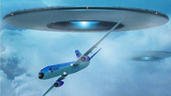 Аргентинец снял на камеру «почти столкновение» НЛО и самолета-акробата