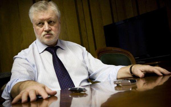 Борца с мигалками Сергея Миронова заметили с мигалкой