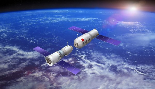 Космическая станция Китая «Тяньгун-1» скоро упадет на поверхность Земли