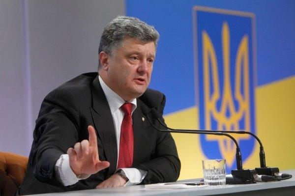 Порошенко начал предвыборный шантаж Запада