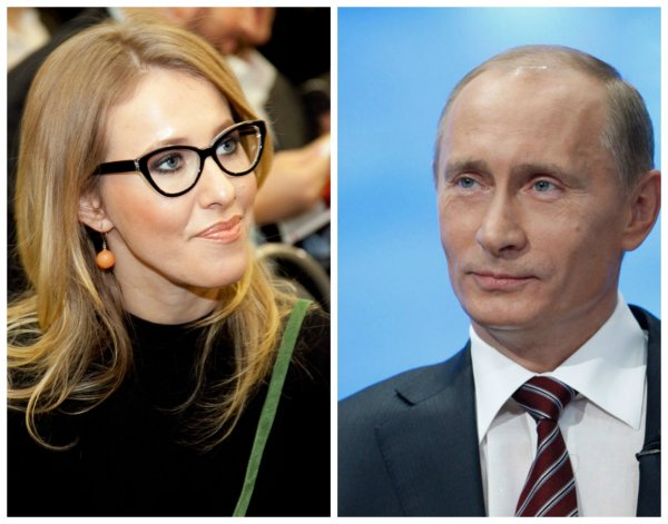 Собчак не подтвердила сведения о том, что Путин её крестный отец