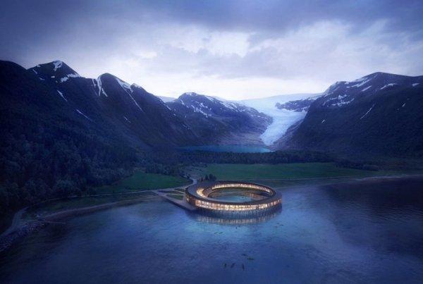 Необычный отель-НЛО построят у фьордов Северной Норвегии