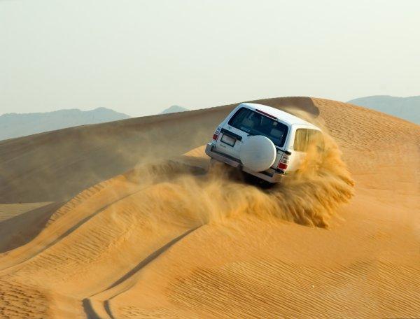 Вице-президент ОАЭ спас туристов в пустыне Дубая
