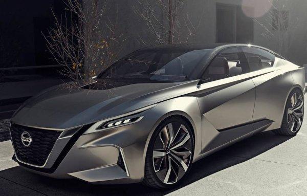 Новый седан Nissan Altima 2019 показался на рендерах