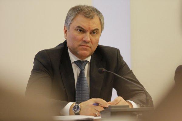Володин заявил о необходимости остановить США