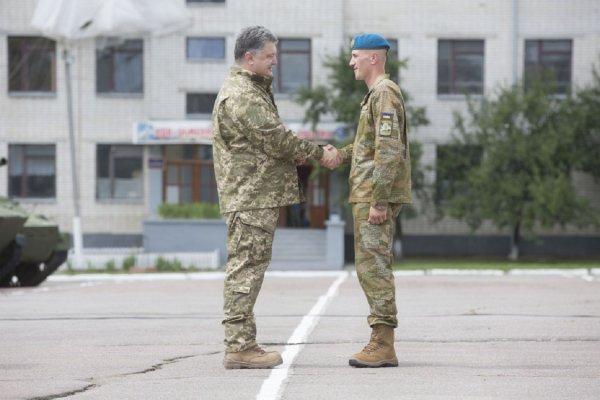 Порошенко: Украинская армия является одной из лучших в Европе