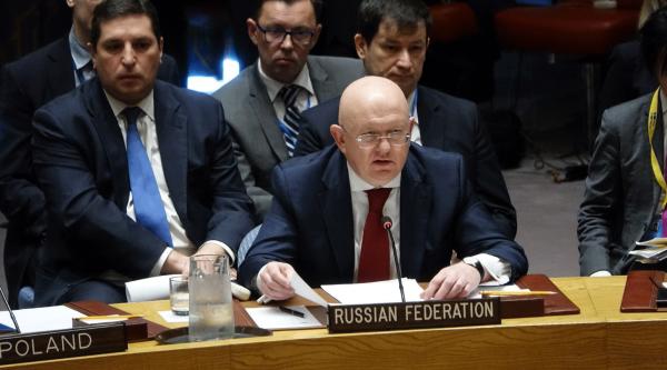 Совбез ООН отклонил осуждающую удары по Сирии резолюцию России