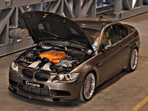 Тюнеры из G-Power выкатили 501-сильный BMW M3 E92