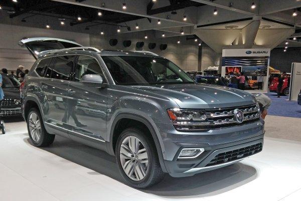 В России продан первый внедорожник Volkswagen Teramont