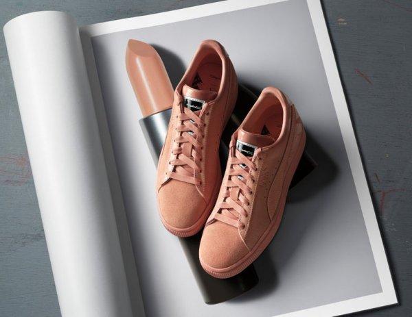 Компания PUMA совместно с M.A.C выпустила коллекцию кроссовок