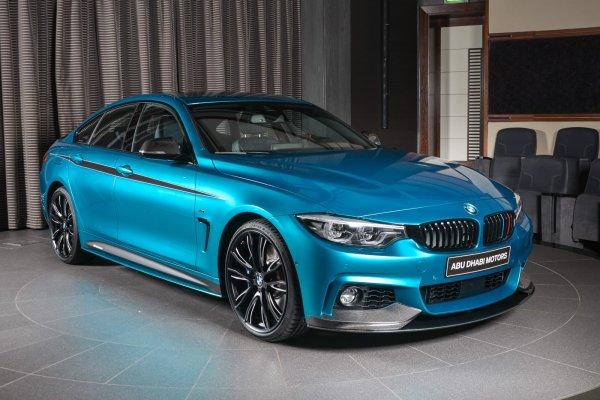 BMW выпустит четырехдверное «заряженное» купе BMW M4 Gran Coupe