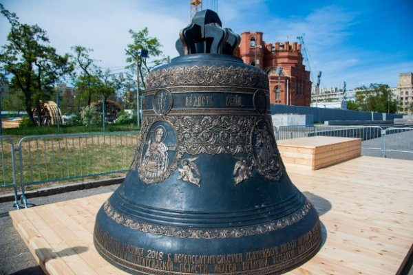 Колокола для строящегося храма Александра Невского доставили в Волгоград