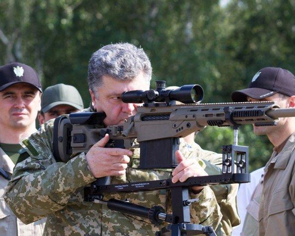 Порошенко: ВСУ в Донбассе удивили весь мир