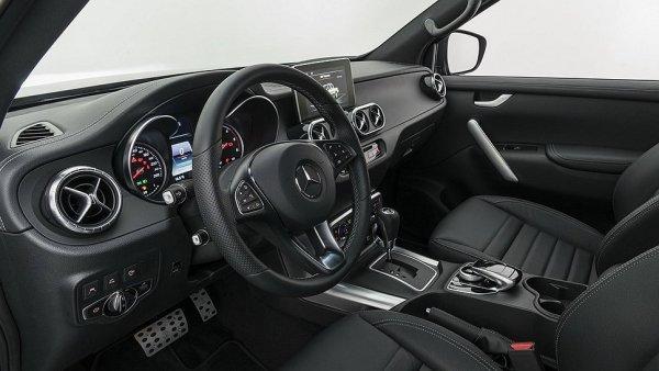 Тюнеры из Brabus потрудились над пикапом Mercedes-Benz X-Class