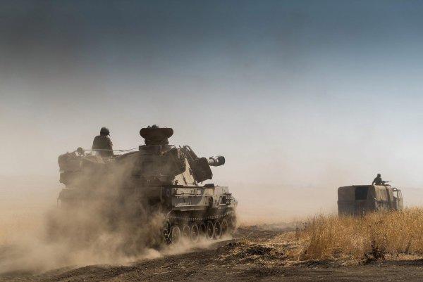 Сирийские «Танковые силы» усилили ракетным «монстром» на базе Т-72?