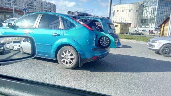 В Тюмени Ford Focus «родил» маленькую машину