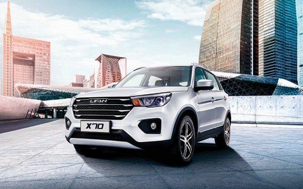 Lifan X70 обеспечил увеличение продаж в апреле на 3%