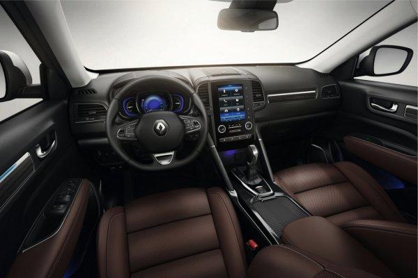 Представлен новый Renault Koleos в кузове кросс-купе