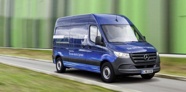 Электрофургон Mercedes-Benz eSprinter станет ситикаром